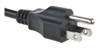 cable de alimentación ac genérico de 5 pies para samsung tos