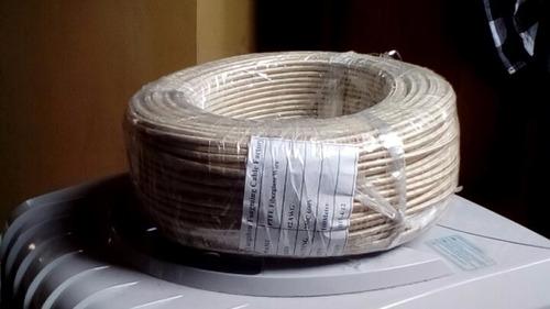 cable de alta temperatura rollo con 100 mts