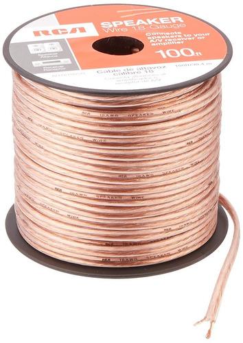 cable de altavoz rca ahsr -guage -  pies