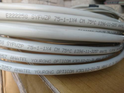 cable de arranque vga, macho db9 / macho de 4 bnc