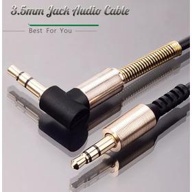Cable De Audio Auxiliar Stereo Para El Auto O Aux Exelente