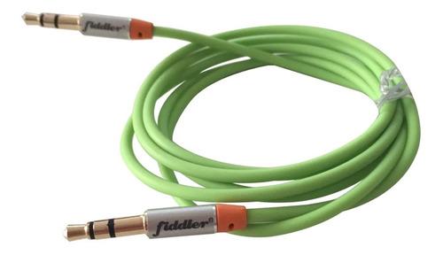 cable de audio miniplug fiddler 1 metro verde