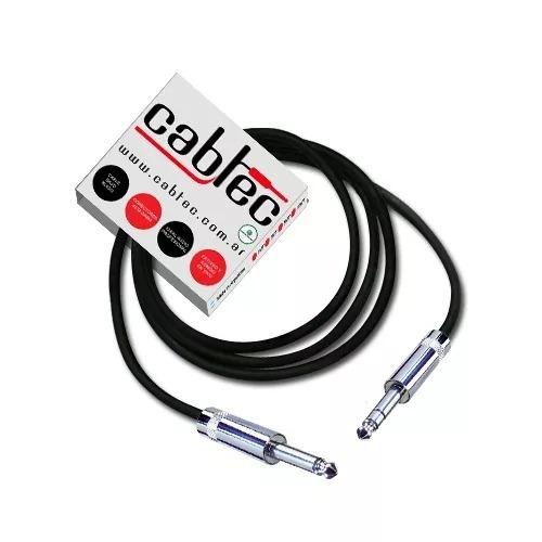 cable de audio plug plug mono 6 metros neutrik rean cabtec