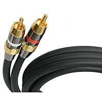 cable de audio premium rca de 15 pies de startech.com