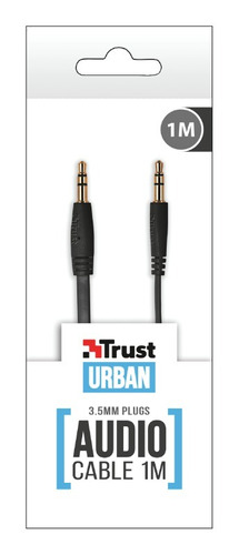 cable de audio stereo 1mt trust 4242