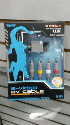 cable de audio y vídeo para wii