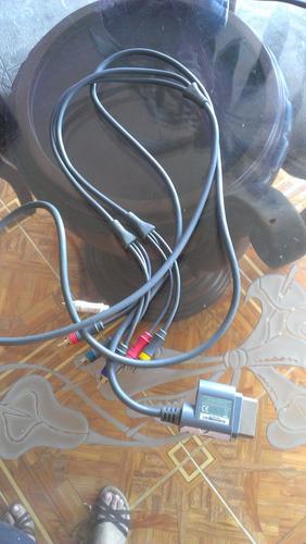 cable de audio y video para xbox 360 sd y hd
