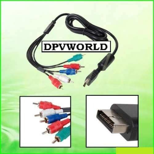 cable de audio y video playstation 3 ps3 ps2 video component