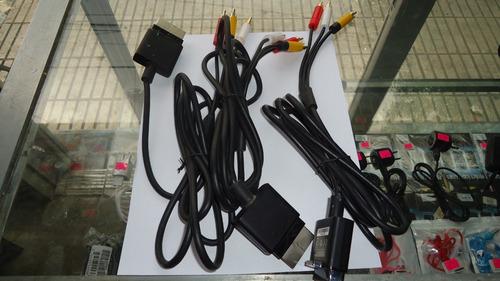 cable de audio y video  xbox360 slim