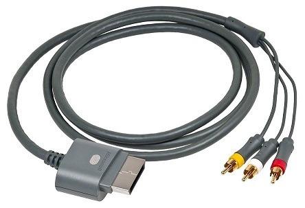 cable de a/v xbox 360 fat nuevo orig /leer descripc