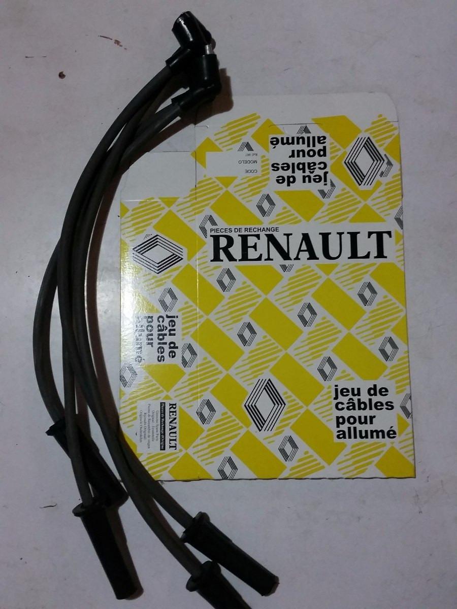 Cable De Bujia Renault Logan Clio  Sandero  Kangoo Symbol 8v