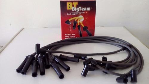 cable de bujias 8.5mm chevrolet c-70,c-60 largo 8cil bigteam