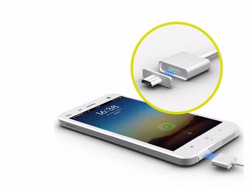 cable de carga imantado para android