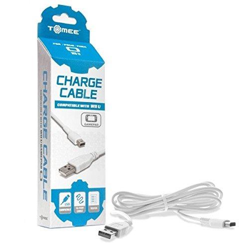 cable de carga tomee wii u gamepad- envío gratis