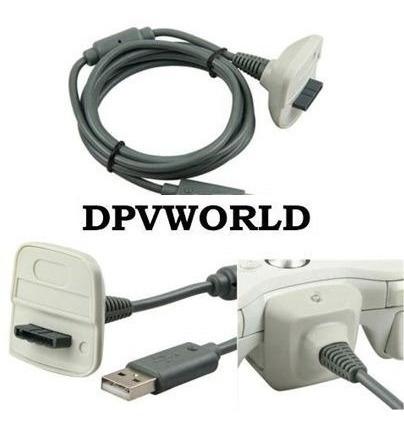 cable de carga y juega xbox 360 control inalámbrico xbox 360