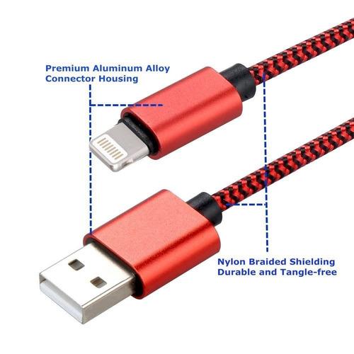 cable de cargador para iphone de advans, 2pac + envio gratis