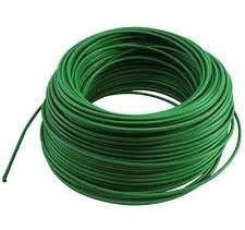 cable de cercos eléctricos de color: verde