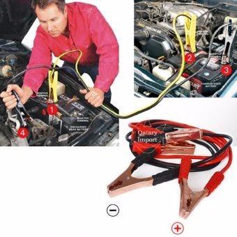 cable de cobre cu de auto, carro pasar corriente a batería