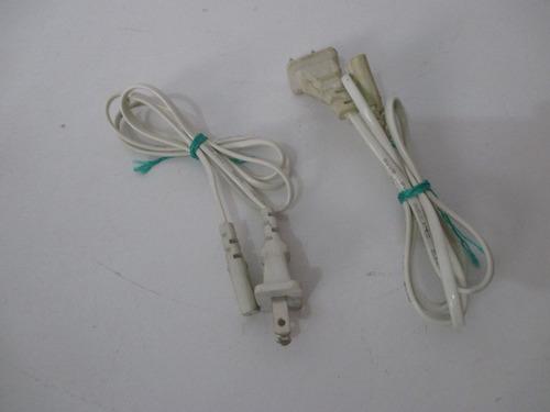 cable de corriente dos polos para laptop, radio, lamparas..