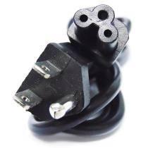cable de corriente para cargador de laptop de 2 y 3 interfaz