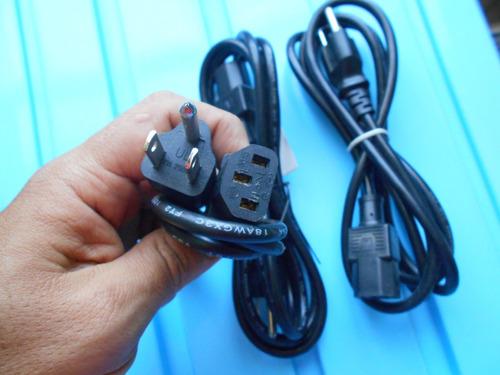 cable de corriente para computadora 3 pines monitor o pc etc