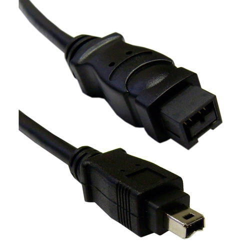 cable de datos firewire 9 pin a 4 pin - firewire 800 a 400