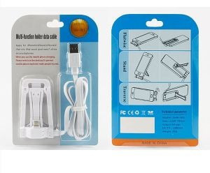 cable de datos holder flat para smartphones