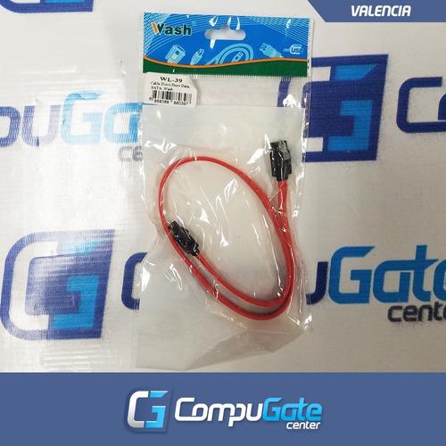 cable de datos sata para disco duro pc dvd cd blue ray 45cm