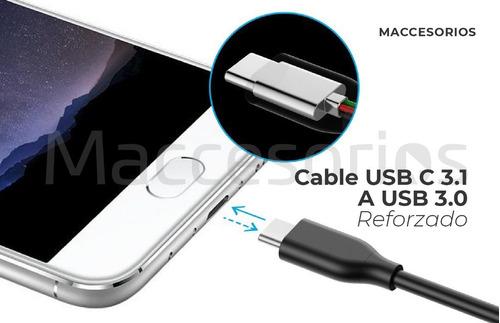 cable de datos usb 3.0 a usb tipo c 3.1 reforzado premium