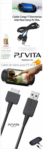 cable de datos usb para sony ps vita carga y sincroniza psv