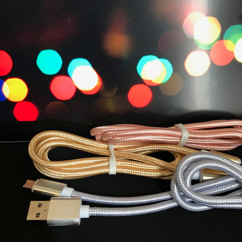 cable de datos usb y lighting