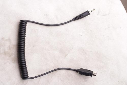 cable de disparo tipo n3 1.5mm nikon