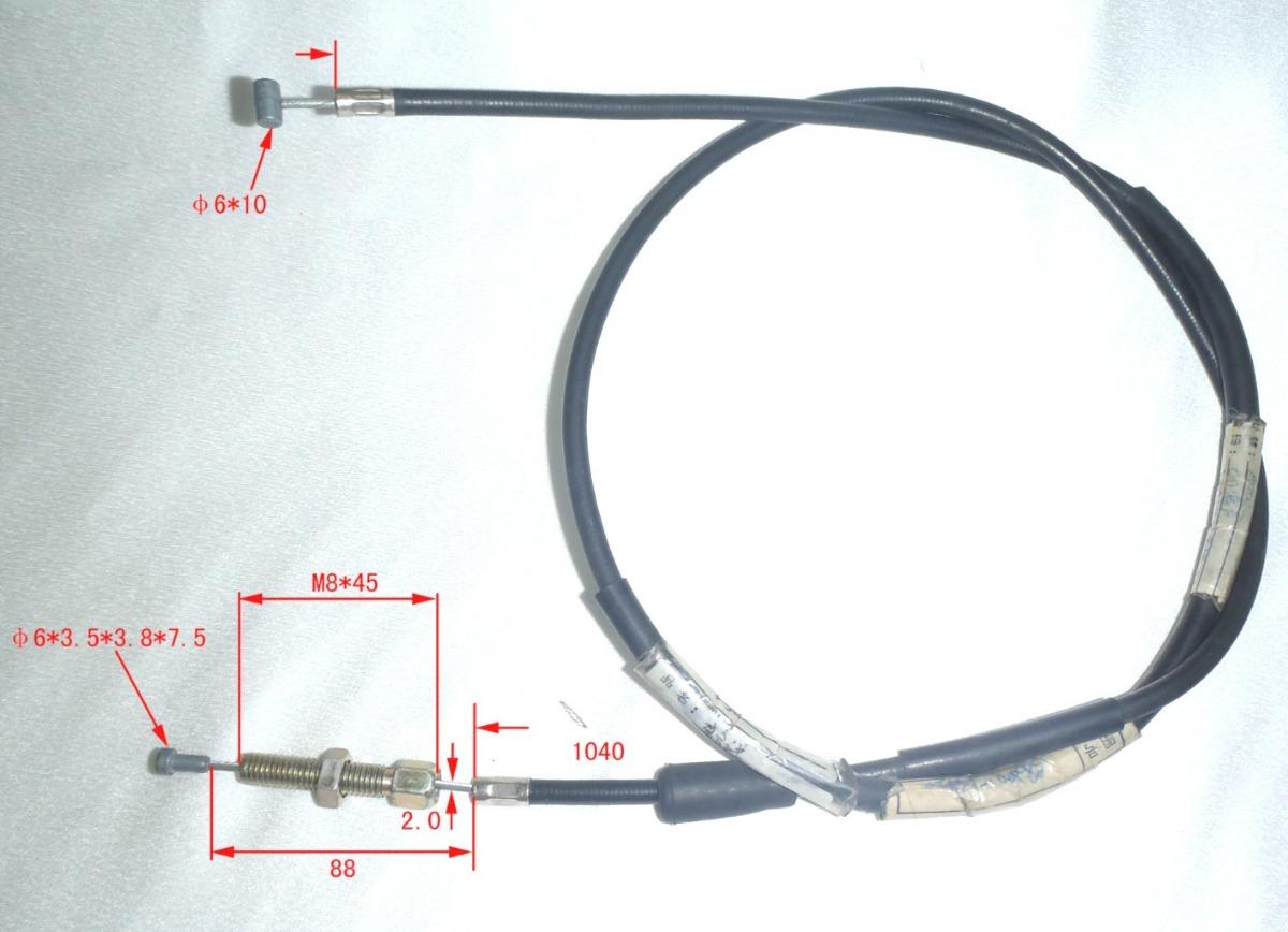 Cable De Embrague Suzuki Ax100 W Standard 14645 En Mercado Libre Wiring Diagram Cargando Zoom