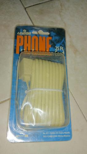 cable de extensión para teléfono