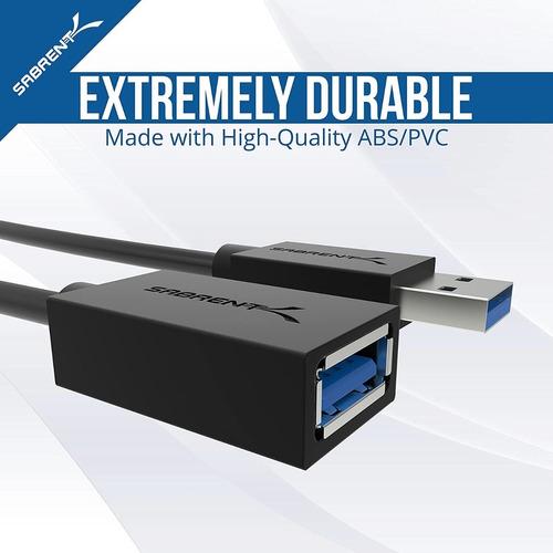 cable de extensión - usb 3.0 - macho/hembra - 100cm