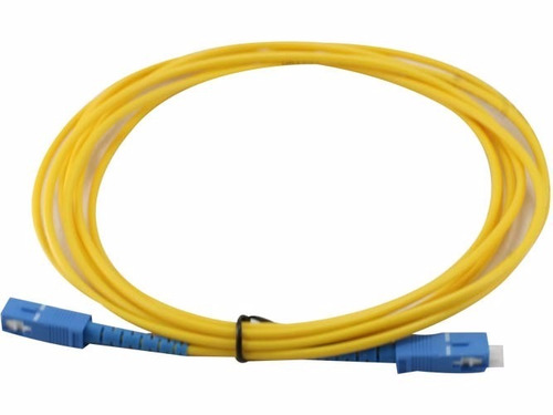 cable de fibra óptica 3 metros  red internet