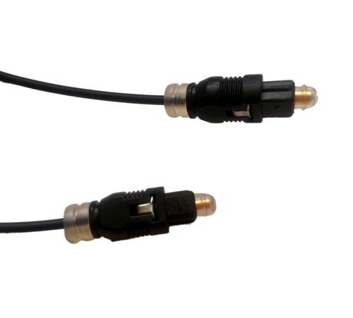 cable de fibra optica 5 metros audio digital toslink