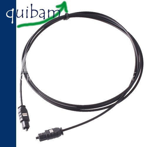 cable de fibra optica 5 metros audio digital toslink