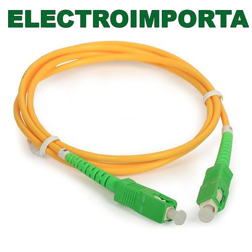 cable de fibra optica antel 5 metros - electroimporta
