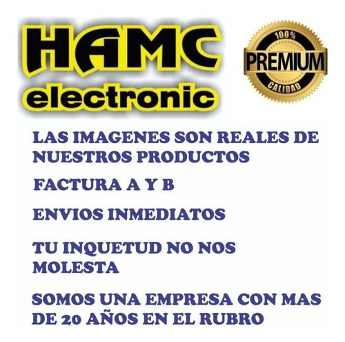 cable de guitarra bajo plug plug  2 mts profesional / hamc