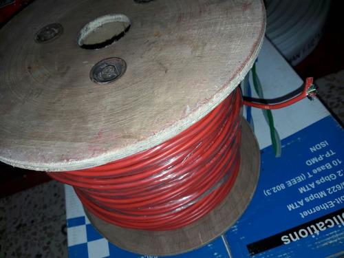 cable de incendios de 4 hilos con blindaje