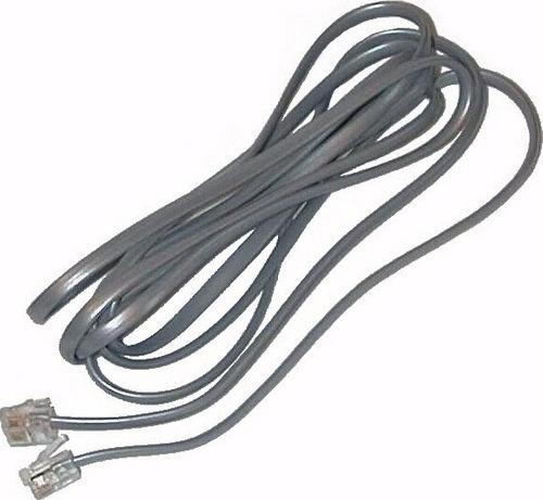 cable de linea para telefono - adsl - router conectores rj11