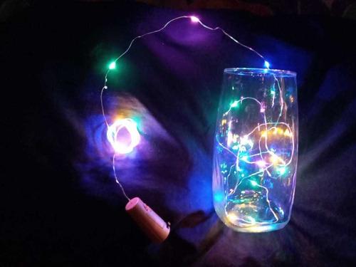 cable de luz led de corcho