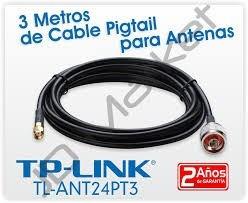 cable de pigtail 3.0 mts tl-ant24pt3