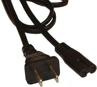 cable de poder 2 pin