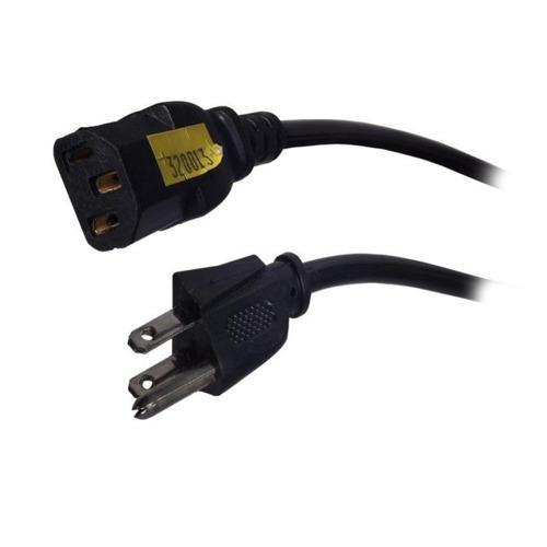 cable de poder de 7 metros - negro