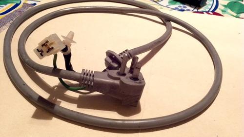 cable de potencia lavadora automática electrolux mod. ew757