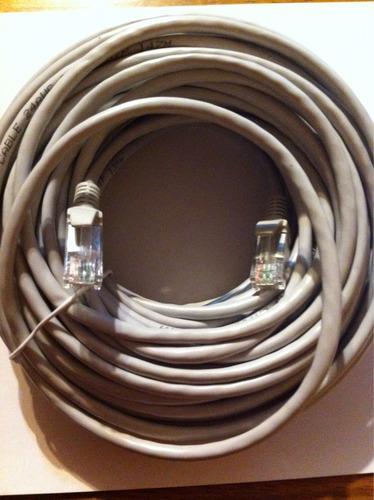 cable de red 30 metros cat 5 e