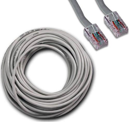 cable de red armado 20 metros internet utp cat5e