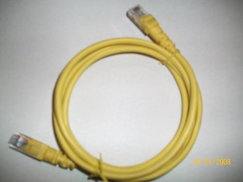 cable de red ethernet para modem cat. 5e